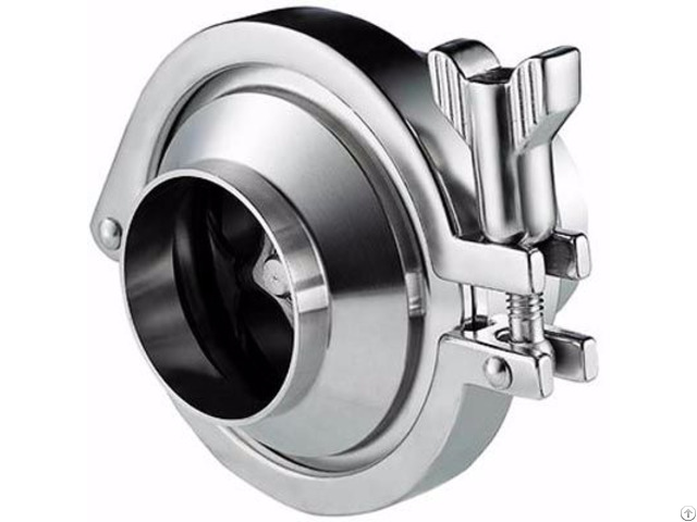 Stainless Steel Sanitary Check Valve Ss 304 316 304l 316l