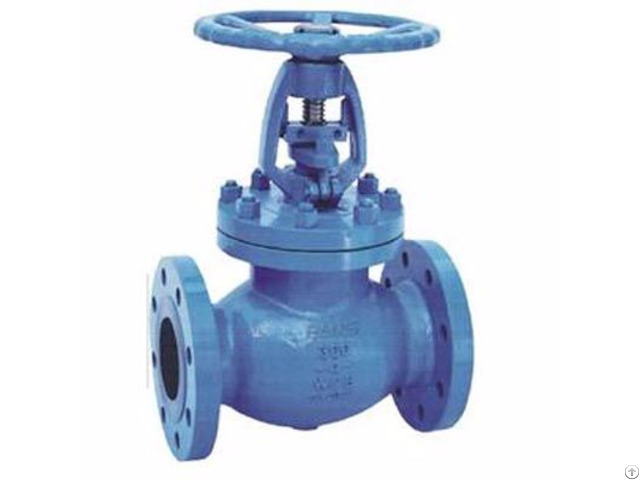 Bellow Seal Globe Valves Flanged Ends