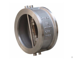 Dual Plate Check Valve Stainless Steel