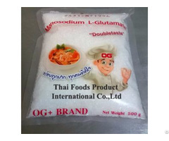 Monosodium Glutamate Seasoning
