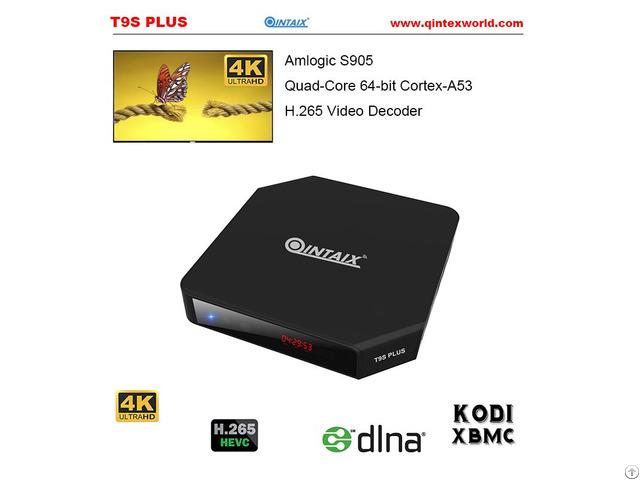 Amlogic S905 Quad Core Set Top Box Android 5 1 Mini Pc Qintex T9s Plus