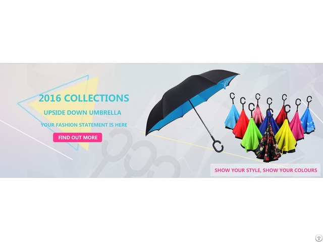 Double Layer Inverted Umbrella Wholesale In China