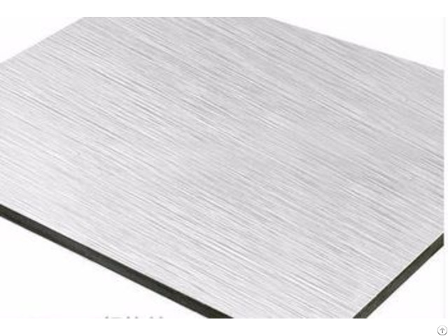 Kingaluc Brushed For Wall Decorative Aluminum Composite Panel