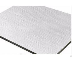 Kingaluc Brushed For Wall Decorative Aluminum Composite Panel
