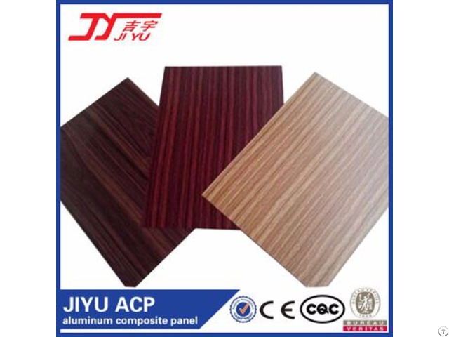 Kingaluc Wooden For Wall Decorative Aluminum Composite Panel