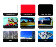 Kingaluc High Gloss Color Sign Board Aluminum Composite Panel