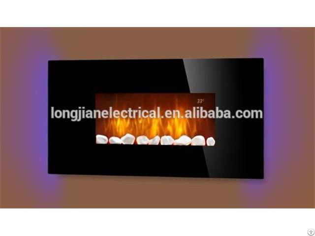 Led Sidelight Wall Mounted Electric Fireplace