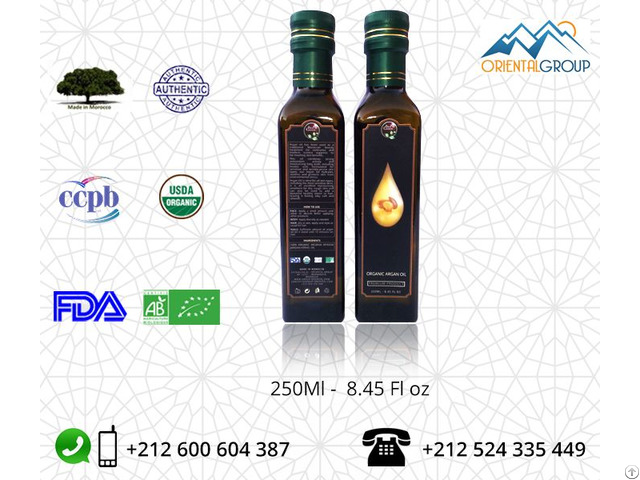 Pure Organic Argan Oil Wholesale