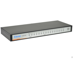 Kinan Xu0116 Rack 16 Port Usb Analog Kvm Switch