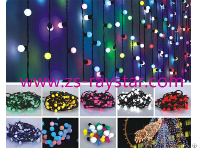 5m 10m Colorful 220v String Lights