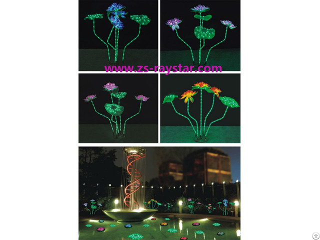 Lotus Lamps With 15w 220v