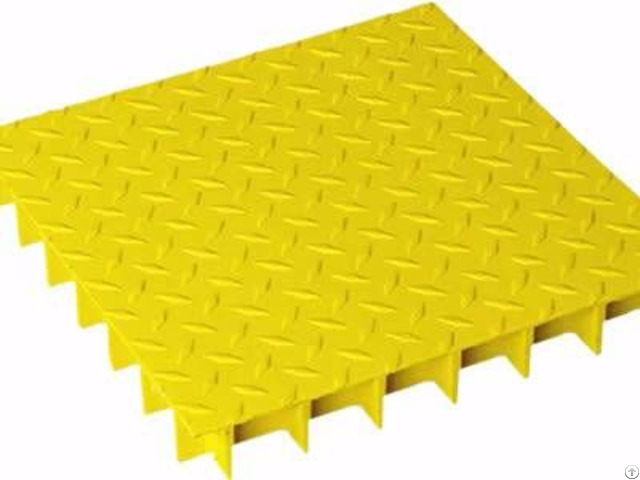 Covered Fiberglass Grating