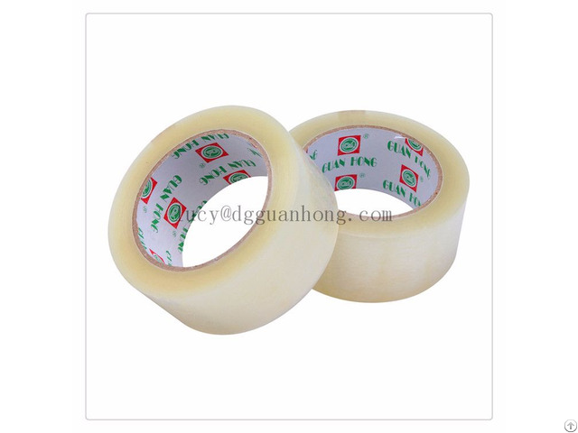 Cinta Super Clear Chinese Self Adhesive Tape Manufacturer