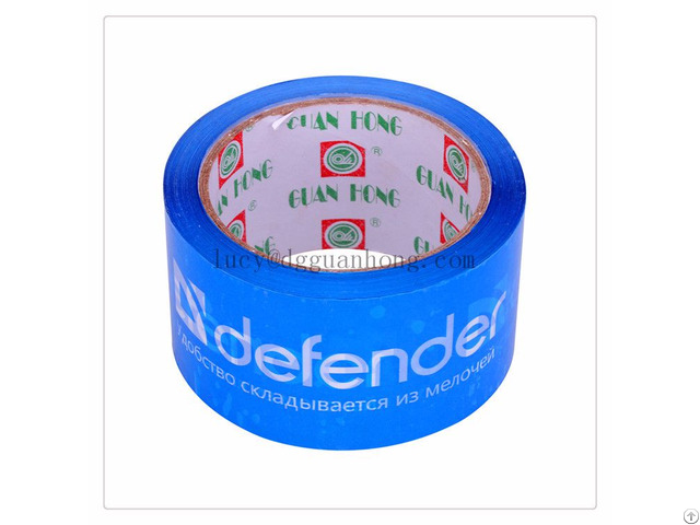 Transparent Bopp Carton Sealing Tape With Custom Logo