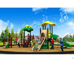 Popular Cartoon Series Outdoor Playground Equipment Combined Slide Wd Cr181