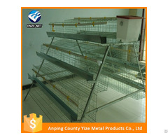 Broiler Poultry Farm House Design Atomatic Battery Chicken Cage
