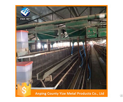 Chicken Broiler Feeding Equipment Layer Poultry Rearing Cages