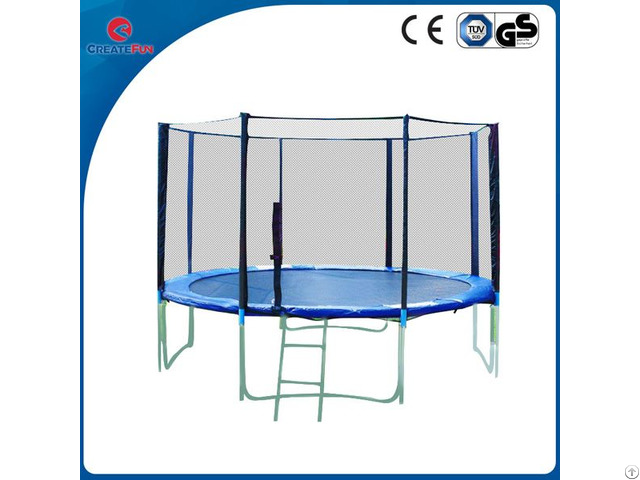 Outdoor Bungee Trampoline With Basketball Hoop
