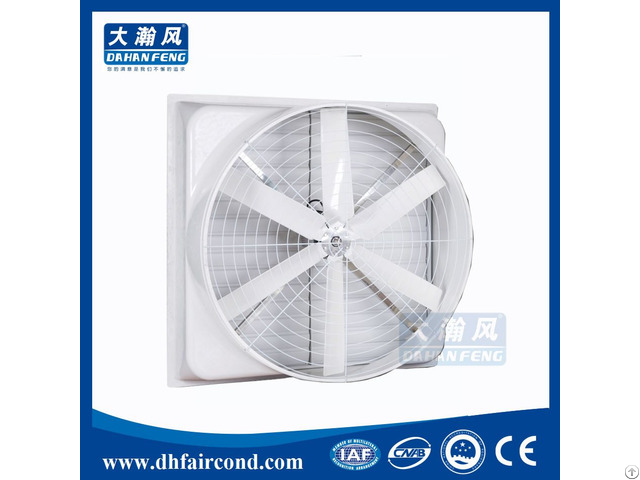 High Temperature 1500 Cfm Workshop Chemical Laboratory Stainless Steel Kitchen Exhaust Fan 20 Inch