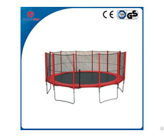 14ft Uv Resistant Trampoline With Safety Net