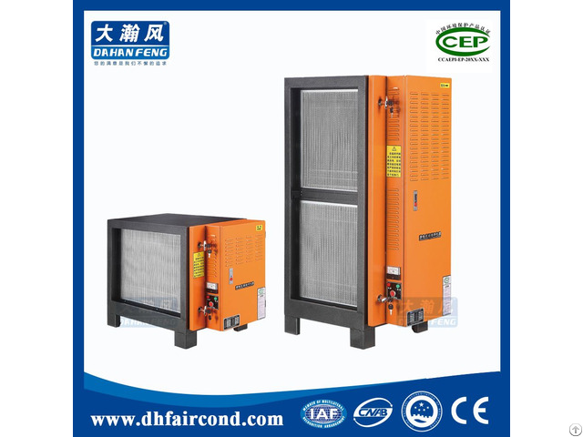 Kitchen Electronic Oil Mist Eliminator Separator Collector Exhaust Electrostatic Precipitator
