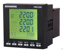 Three Phase Volt Amp Hz Watt Multifunctional Digital Power Meter