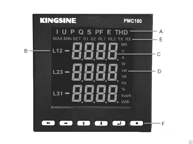 Three Phase Digital Power Analyzer Meter