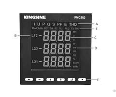 Three Phase Digital Power Analyzer Meter