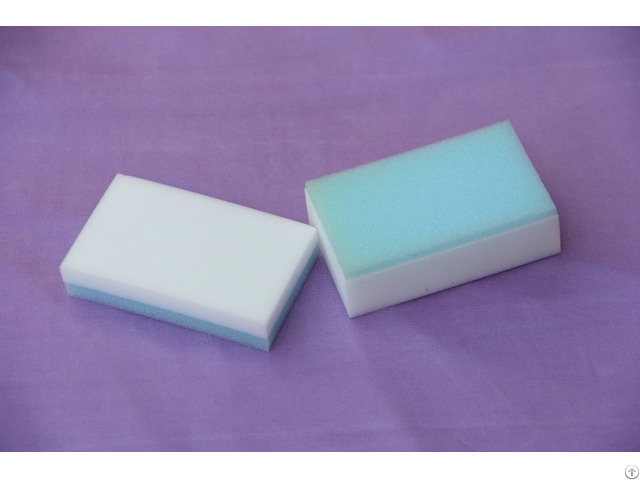 Cleaning Different Shapes Melamine Sponge Eraser Foam