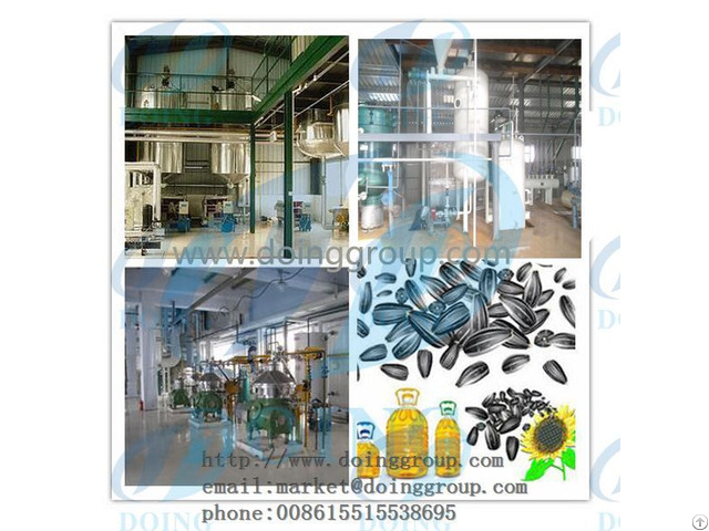 Sunflower Oil Producting Market Analysis