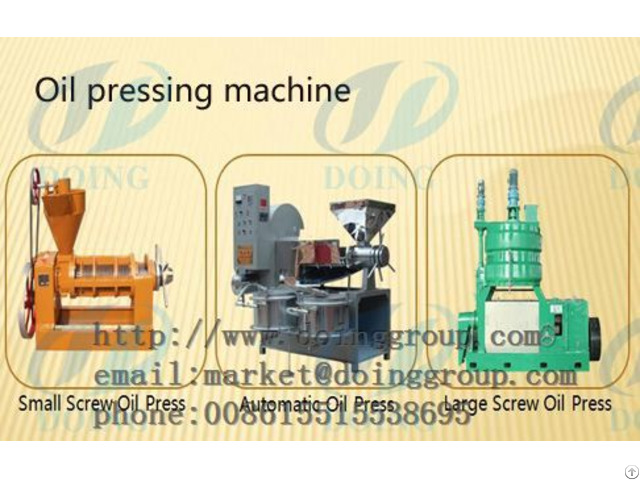 Fragrant Peanut Oil Press Technology