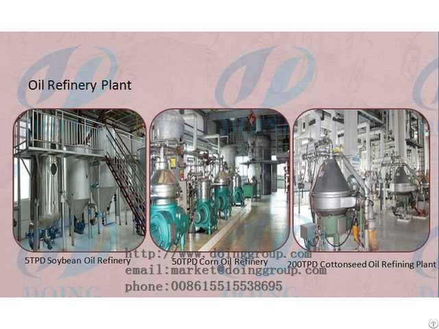 Introduction Of Vegetable Oil Refinery