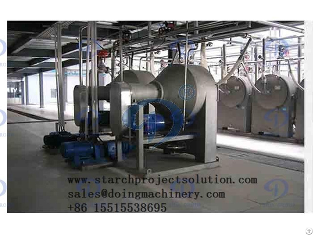 Nigeria Client 50tpd Cassava Starch Processing Plant Project Start Installation