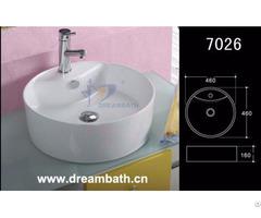 Porcelain Bathroom Sink