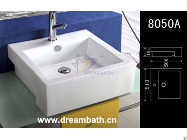Rectangular Bathroom Basin