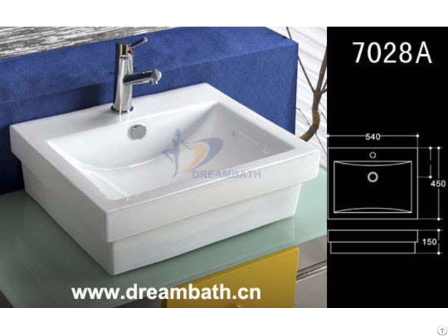 Rectangle Bathroom Sink