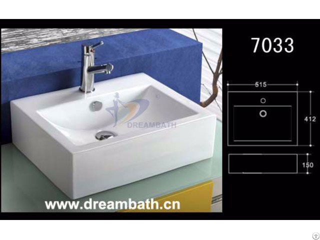 Rectangular Bath Sink