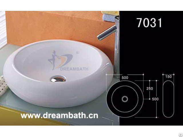 Circular Bathroom Sink Dreambath