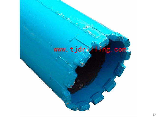 Core Barrel With Pin Teeth