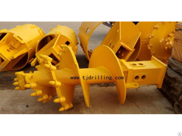 Double Cut Progressive Auger