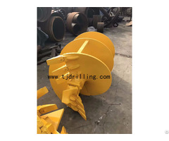 Double Cut Drilling Auger For Soil