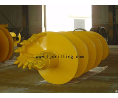 Single Cut Rock Auger