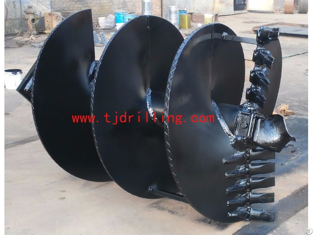 Double Cut Soil Auger
