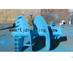 Double Cut Drilling Auger