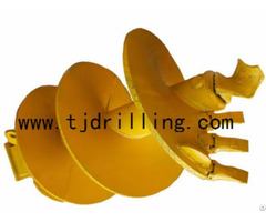 Single Cut Soil Auger