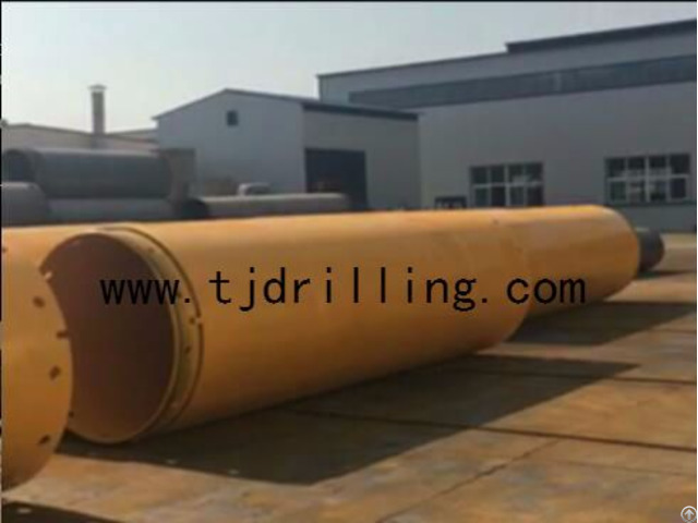 Double Wall Casing With Screw Joint