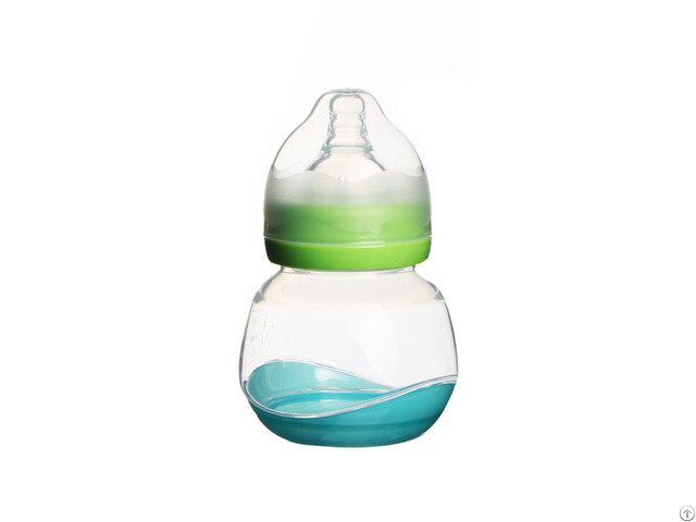 Newborn Big Plastic Wide Neck 240ml Baby Bottles With Milk Container
