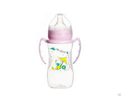 Non Toxic Newborn Wide Neck Baby Feeding Bottle With Milk Container