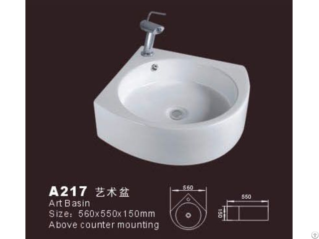 Corner Bathroom Sink