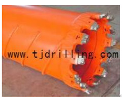 Core Barrel With Replaceable Teeth